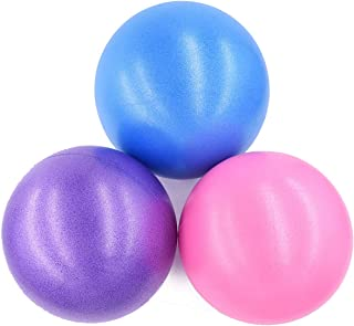 Adventure World 9-Inch Mini Exercise Ball - for Yoga, Pilates, Barre, Physical Therapy, Fitness, Stability