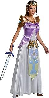 Women's The Legend of Zelda Outfit Deluxe Fancy Dress Halloween Costume