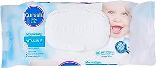 Curash Vitamin E Baby Wipes 3X80PK