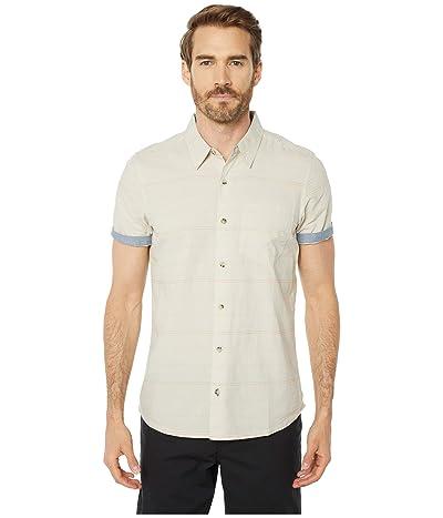 Toad&Co Airlift Short Sleeve Shirt Slim (Salt) Men