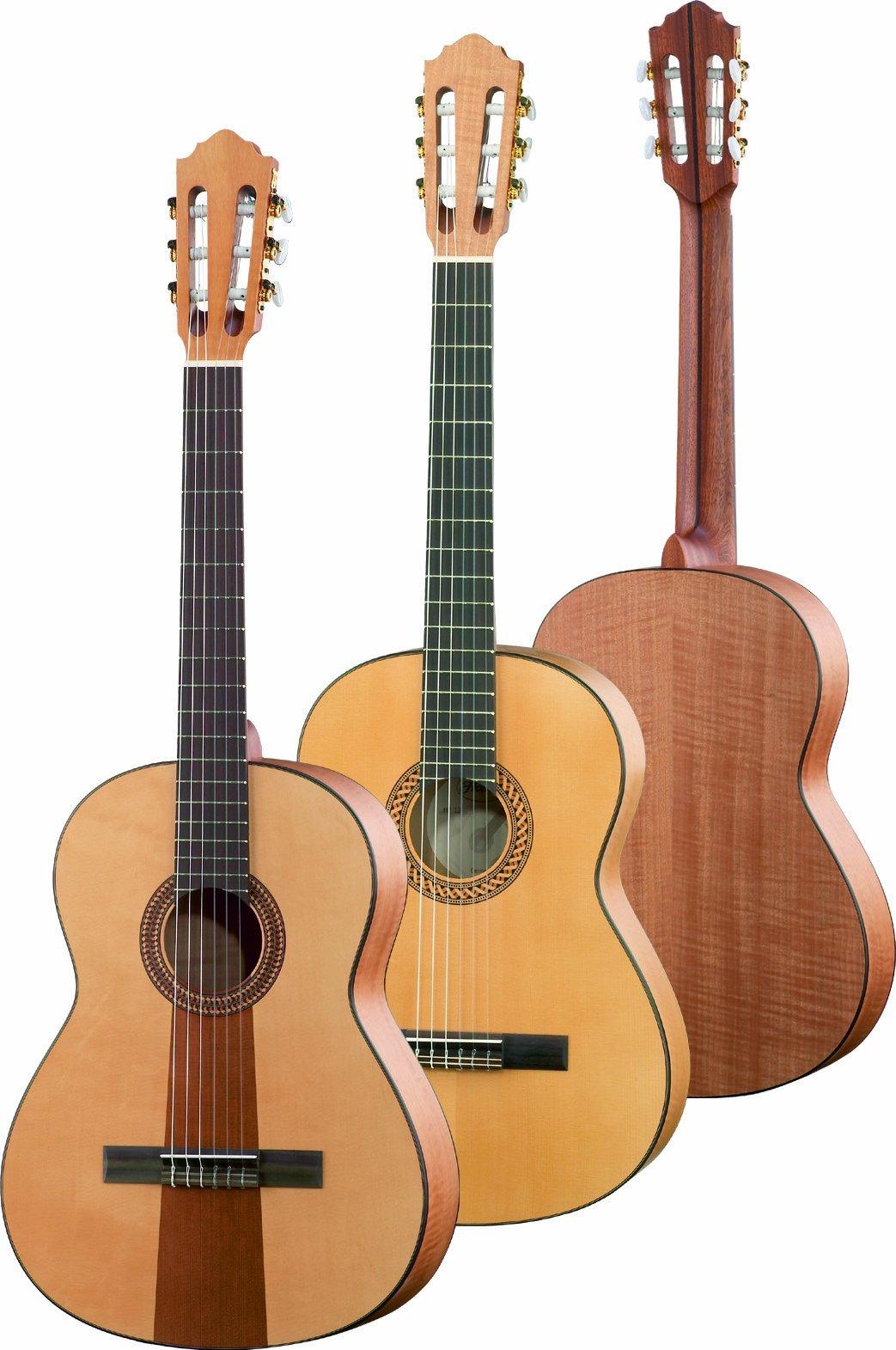Höfner clásico de Line Guitarra de concierto 4/4 HF14, 65 mm ...