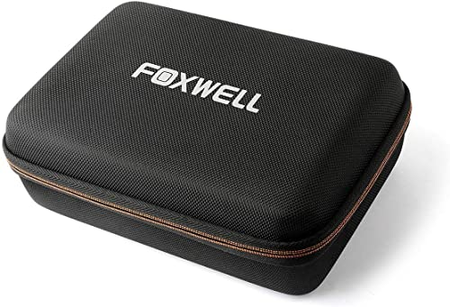 wholesale FOXWELL Hard Protection Carrying Case for NT510 wholesale discount Obd2 Code Reader Check Engine Light Scanner and Diagnostic Scan Tool - Polyester Fibre & EVA Travel Case (Black) online sale