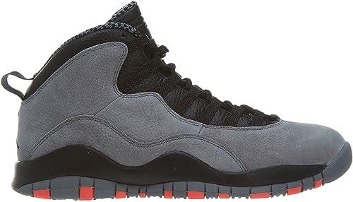 Jordan Nike Men's Air Retro 10, Cool gris Infrarouge-noir, 8.5 M US