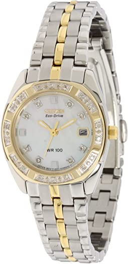 EW1594-55D Eco Drive Two-Tone Watch