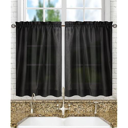 Kitchen Curtains 36 Length Amazoncom