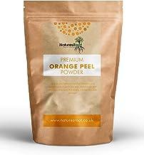 Nature's Root - Polvo de cáscara de naranja prémium - cosmético de limpieza para desobstruir los poros | Propiedades antibacterianas naturales | Pelo graso