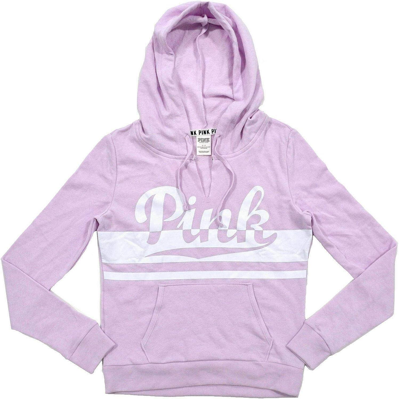Victoria's Secret Pink Hoodie V-Cut Neckline Sweatshirt