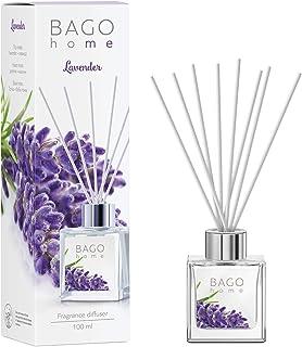 Sponsored Ad - BAGO home Fragrance Oil Reed Diffuser Set with Sticks - Lavender | Lavender, Jasmine & Tonka Beans Notes | ...