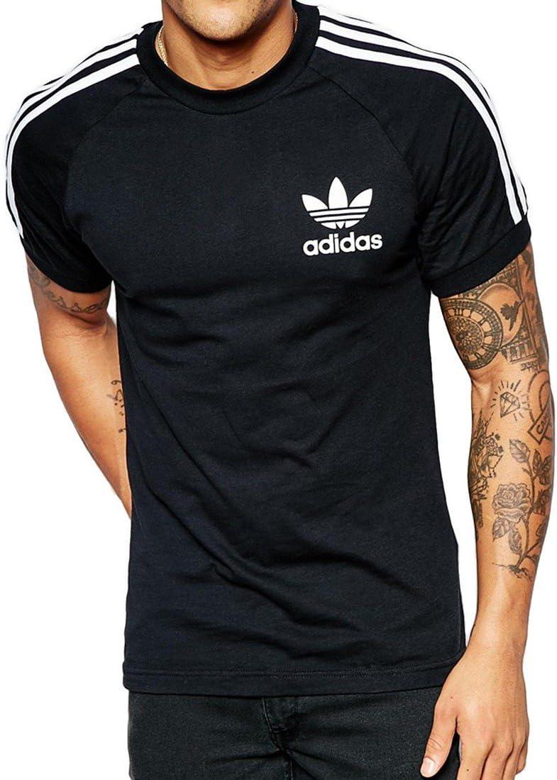 cielo Estudiante cafetería  adidas California Short Sleeved T-Shirt: adidas Originals: Amazon.co.uk:  Sports & Outdoors