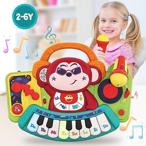 Karikatur Nettes Handtrommel Stoß Spielzeug Für Kinder Spielen Spaß Geschenk
