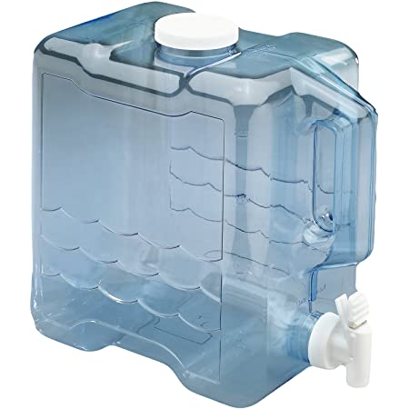 Arrow Home Products 2 Gallon Slimline Beverage Container in Clear