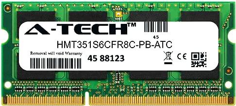 A-Tech 4GB Replacement for Hynix HMT351S6CFR8C-PB - DDR3 1600MHz PC3-12800 Non ECC SO-DIMM 2rx8 1.5v - Single Laptop & Notebook Memory Ram Stick (HMT351S6CFR8C-PB-ATC)