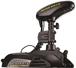 Minn Kota Terrova Freshwater Bow-Mount Trolling Motor with 45-Inch Shaft, Universal Sonar 2, and i-Pilot GPS (12-Volt, 55-Pound)