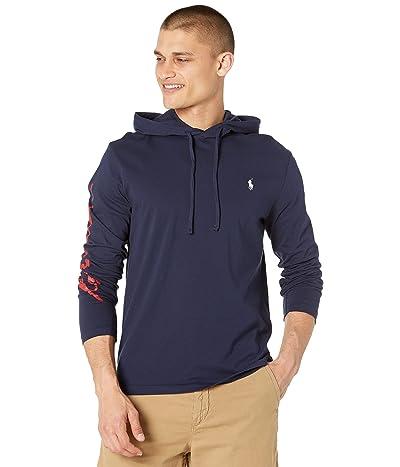 Polo Ralph Lauren Logo Jersey Hooded T-Shirt