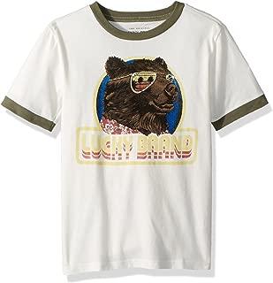 Boys' Short Sleeve Bear President Tee