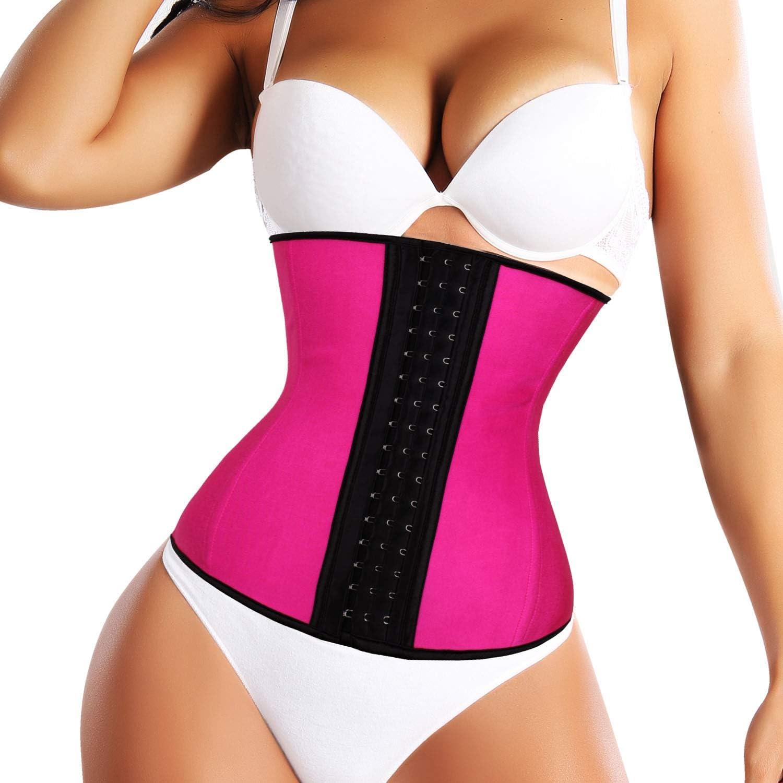 ROMUCHE Waist Trainer Corset for Weight Loss  Body Shaper for Women Waist Cincher Slimmer Workout