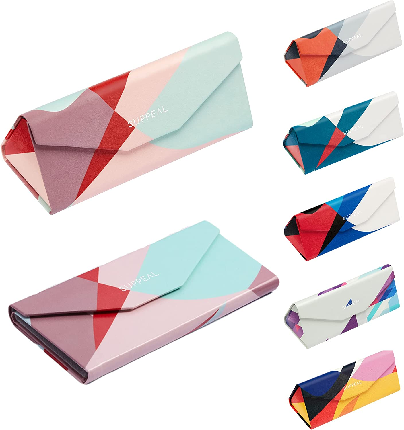 Suppeal Inexpensive Glasses Case Sunglasses Surprise price with Fashionable Women for