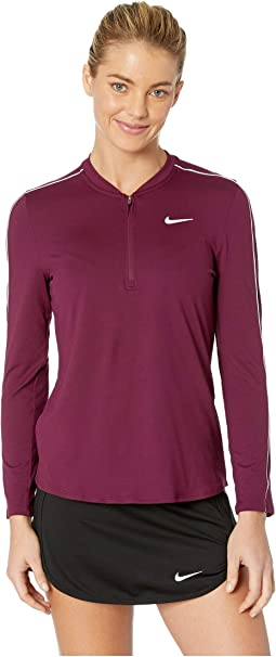 Court Dry Top Long Sleeve 1/2 Zip