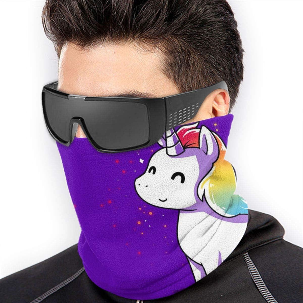 Unicorn Neck Gaiter Headwear Headband Head Wrap Scarf Mask Neck/Ear Warmers Headbands Perfect For Winter Fishing, Hiking, Running, Motorcycle Etc& Daily Wear For Men And Women