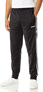 Men's Essentials 3-Stripes Tapered Tricot Pants