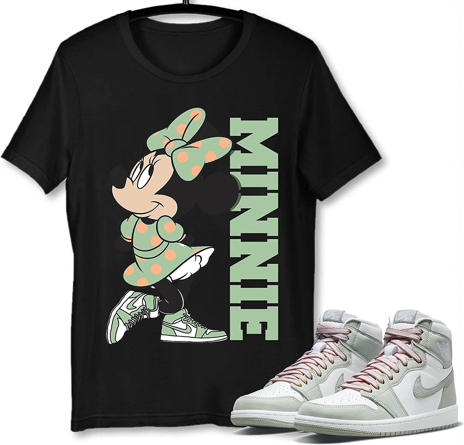 #Minnie #Mouse T-Shirt to Beauty products Match Jacksonville Mall Jordan G 1 Sneaker Seafoam Snkrs