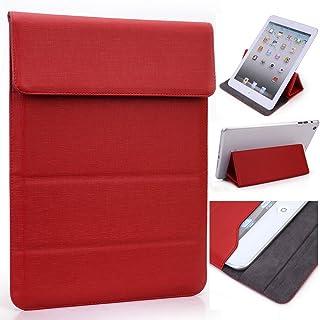 Krooスーパースリムタブレットユニバーサルケースwithスタンドfor Huawei Honor x1x27.0, MediaPad 7youth2Huawei MediaPad t17.0タブレット47Lite s7、[ Zebra Print ] レッド MIMIWPR2|EN|WS6