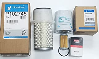 Engine Filter Service Kit JD 650 750 Compact Tractor
