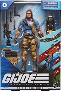 G.I. Joe Classified Series Spirit Iron-Knife Action...