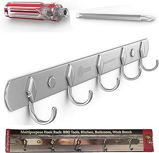 Best stainless steel hook rack Reviews