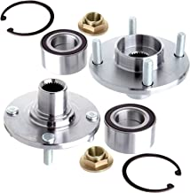 OCPTY Wheel Bearing Hub 518510 (2PCS) Front Bearing Assembly 4 Lugs Replacement fit for 2000-2009 Replacement fit ford Focus