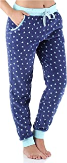 Women's Plush Fleece Lounge Pajama Pants with Pockets