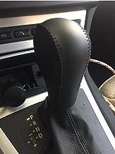 Eppar New Protective Shift Knob Cover 1PC for BMW 3 Series E90 2007-2011 318i 320i 325i 330i 335i (Black)