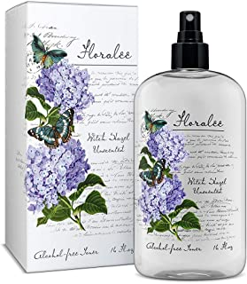 Floralee Alcohol Free Unscented Witch Hazel with Aloe Vera 16 ounce.