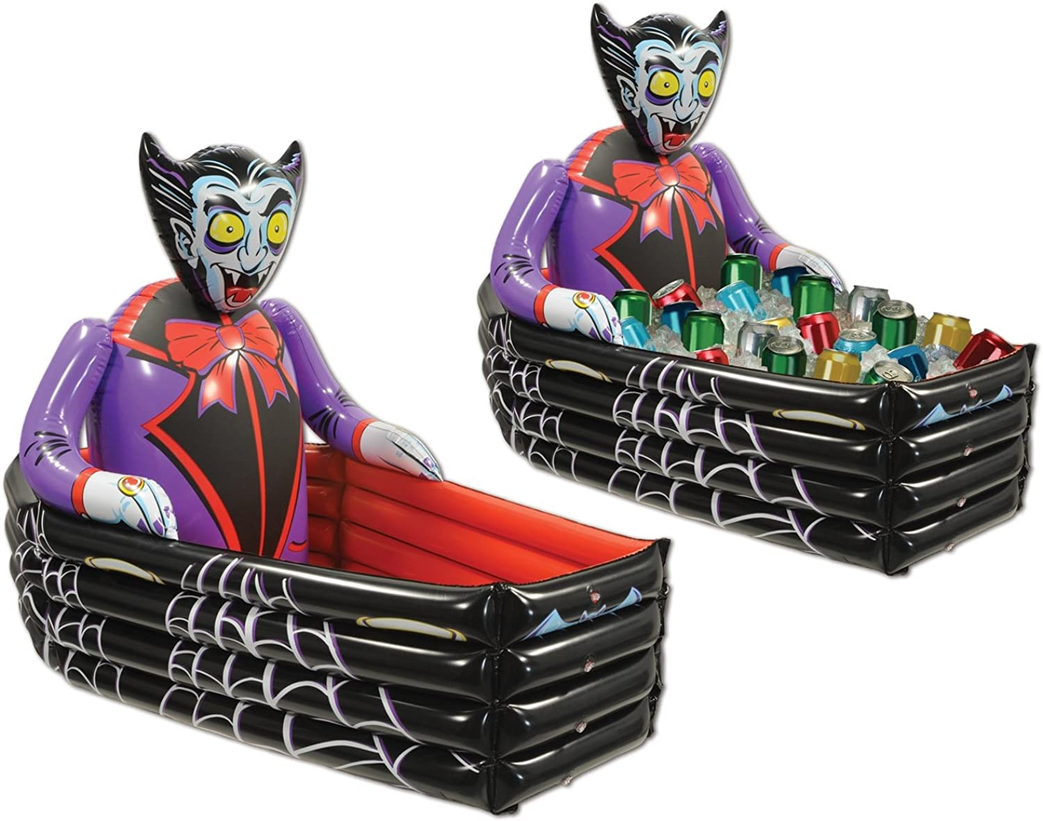 Beistle Inflatable Vampire and Coffin Cooler, 3Feet 6Inch Width by 30Inch Height