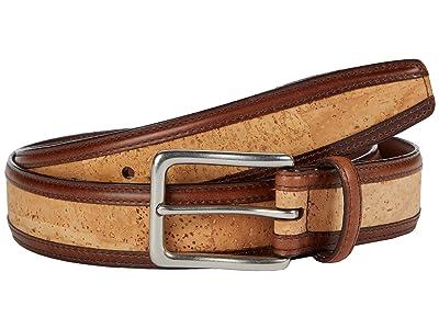 Torino Leather Co. 35 mm Genuine Portuguese Cork w/ Waxhide Trim (Natural) Men
