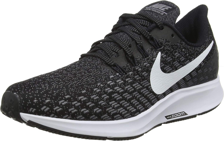 Nike Air Zoom Pegasus 35 (n), paniers Basses Homme, MultiCouleure (noir blanc Gunsmoke Oil gris 001), 39 EU