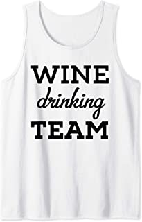 Wine Drinking Team Shirt,I Make Pour Decisions When I Drink Tank Top
