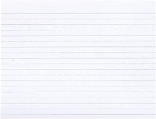 School Smart 085439 Alternate Ruled Paper without Margin, 10.5