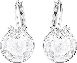 Swarovski Women's White Rhodium plated Bella V Pierced Earrings 5292855