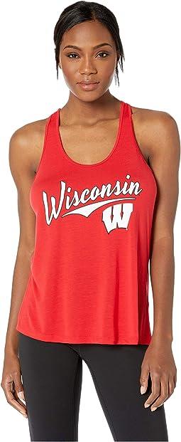 Wisconsin Badgers Eco® Swing Tank Top