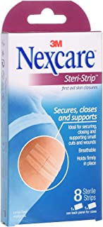 3M Nexcare SS08 Steri-strips Bandages, 8s