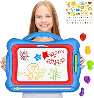 Magnetic Drawing Board for Kids, Geekper - Next X Erasable Colorful Magna Doodle Drawing Board Toys for Kids Writing Sketc...