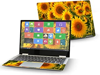 "Mightyskins Skin Compatible with Lenovo Yoga 720 13"" (2017) - Sun Flowers 