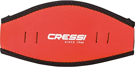 Cressi Neoprene Mask Strap Cover - Comfortable Cover for Diving Mask, Ideal for Long Hair or for Identification