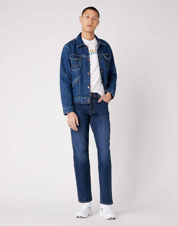 Wrangler Texas Contrast Jeans Straight Homme Classic Strike 13z