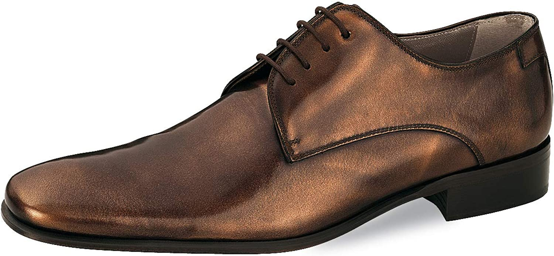 Herrenschuhe Anzugschuhe Exklusive Schuhe Business Echtleder Anzugschuhe Bronze 39    Qualität