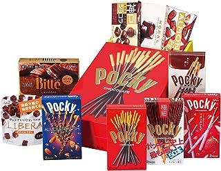 グリコ ポッキー&チョコレートセット 10品 ポッキー風船付き