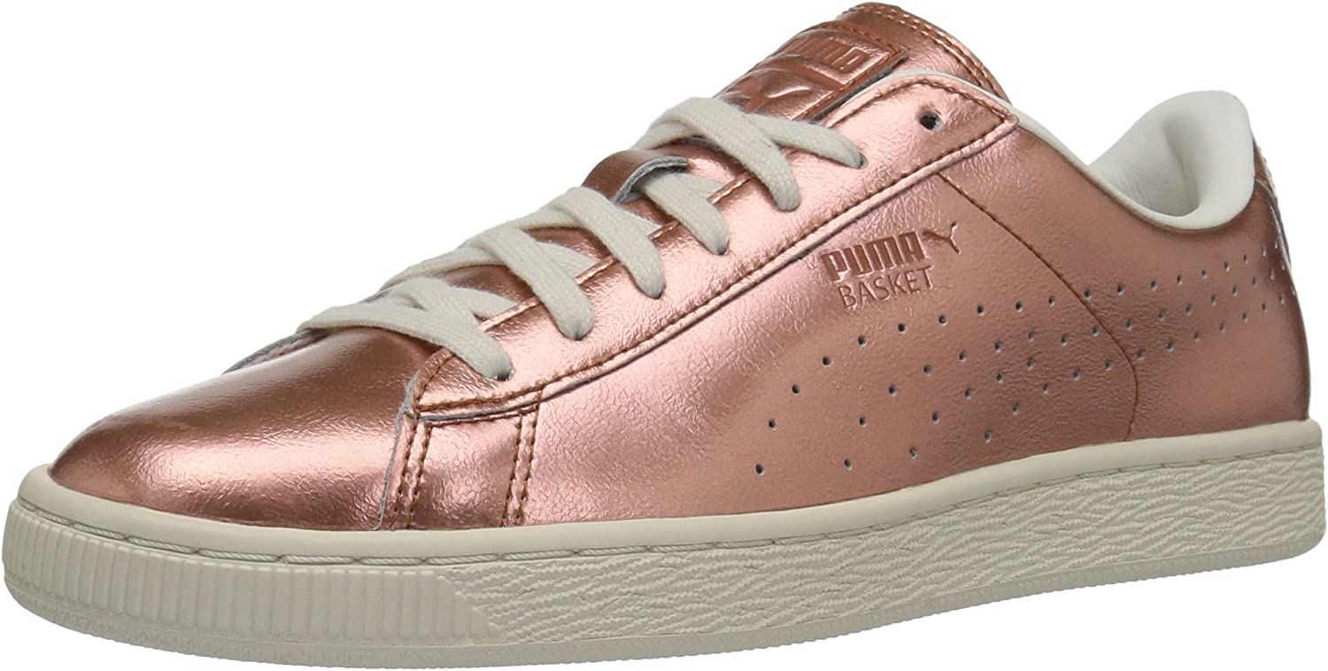 PUMA Womens Basket Classic Citi Metallic WN's Fashion Sneaker