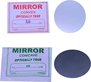 Fun + Learn Concave And Convex Glass Mirror (Pack Of 2)(50mm)