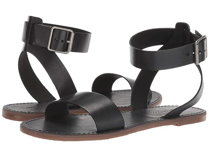 Madewell The Boardwalk Ankle-Strap Sandal